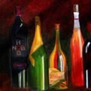 Colors Of Wine Art Print