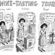 Wine-tasting Tour Art Print