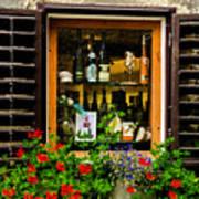 Wine Window Art Print