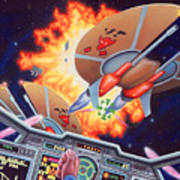 Wing Commander 1992 Art Print