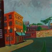 Wingate Street Art Print