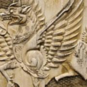 Winged Dragon Art Print