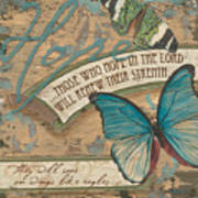 Wings Of Hope Art Print by Debbie DeWitt
