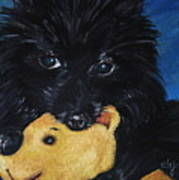 Winnie And Pooh Art Print