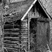 Winslowlogouthouse-11x17 Art Print