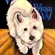 Winston Art Print