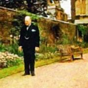 Winston Churchill, 1943 Art Print