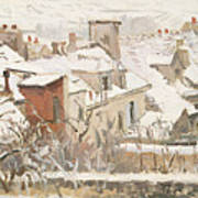 Winter, 1872  Art Print