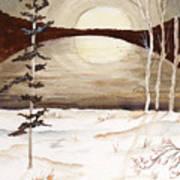 Winter Apex Art Print