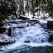Mill Creek Falls Wv Art Print
