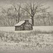 Winter At Valley Forge Art Print