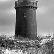 Winter Baltic Sea Lighthouse Art Print