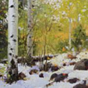 Winter Beauty Sangre De Mountain 2 Art Print