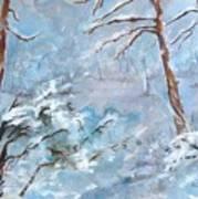 Winter Breeze Art Print