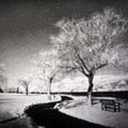 Winter Darkness Art Print