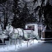 Winter Departure   Art Print