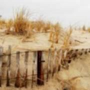 Winter Dune - Jersey Shore Art Print