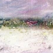 Winter Farm Art Print