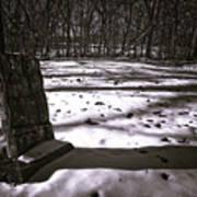Winter Grave Art Print