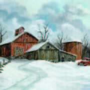 Winter Haven Art Print