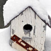 Winter Home Art Print