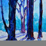 Winter Impression Art Print