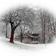 Winter In Bridgeton Art Print