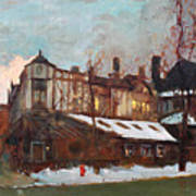 Winter In Buffalo Art Print