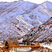 Winter In Grand Junction Art Print