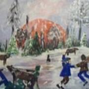 Winter In Louisiana Art Print