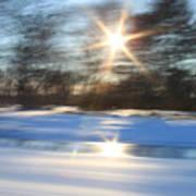 Winter In Motion Art Print