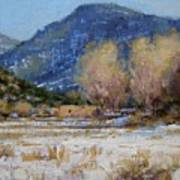 Winter In New Mexico Art Print