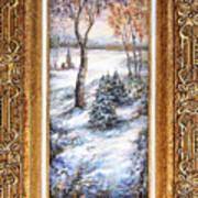 Winter. Art Print