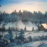 Winter Meadow Art Print