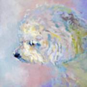 Winter Mickee Art Print