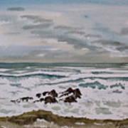 Winter Morning Seascape Art Print