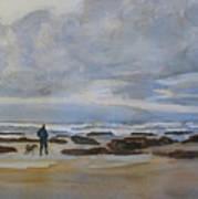 Winter Morning Solitude II Art Print
