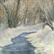 Winter On Stormcreek Art Print