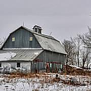 Winter On The Farm 2 Art Print