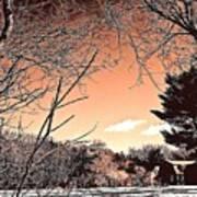 Winter Pastel Art Print