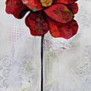 Winter Poppy II Art Print