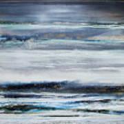 Winter Rhythms Redesdale Blue Series 2009 Art Print