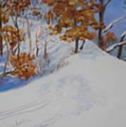 Winter Ridge Art Print