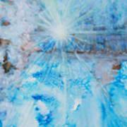 Winter Scene Art Print by Tara Thelen
