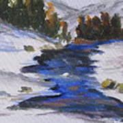 Winter Shades Art Print