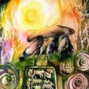 Winter Solstice , Ancient Stones Of Ireland   Art Print