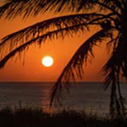 Winter Solstice Sunrise 2 Delray Beach, Florida Art Print