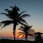 Winter Solstice Sunrise Delray Beach Florida Art Print