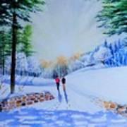 Winter Sonnet  Art Print