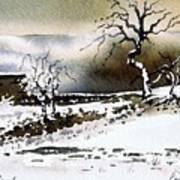Winter Stainland Art Print